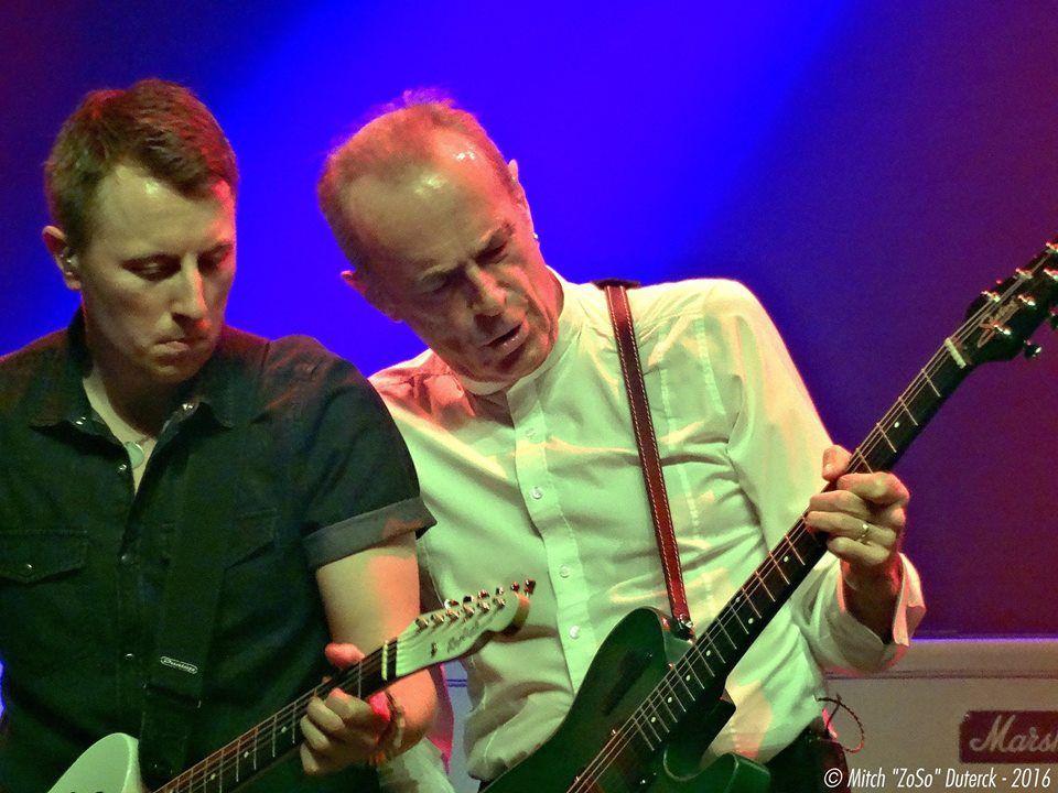 The Last Night of the Electrics Status Quo + Laurence Jones - Poppodium Tilburg, le 17 octobre 2016