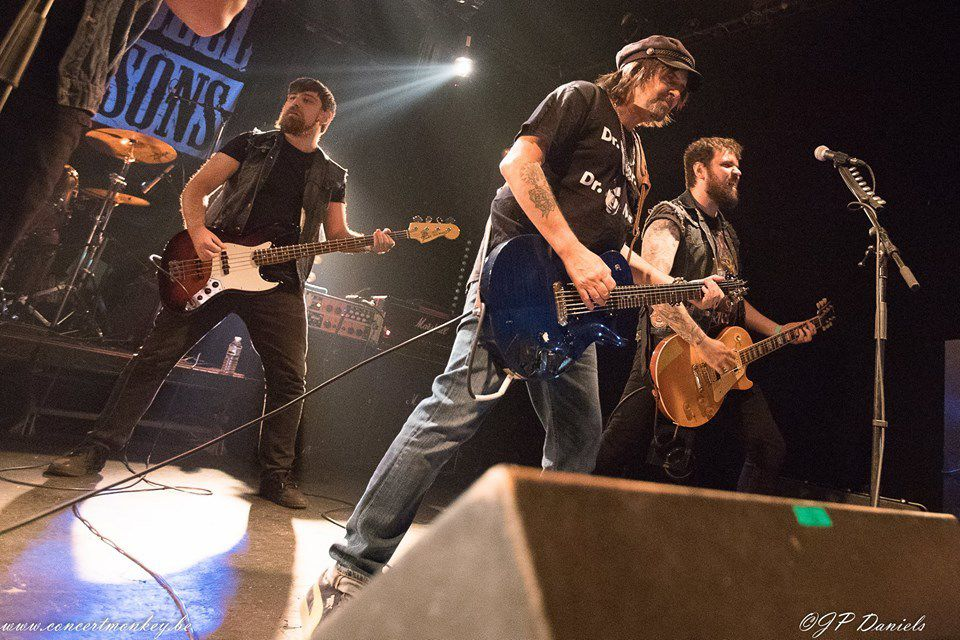 Phil Campbell and The Bastard Sons (UK) + Speedozer au Magasin 4, Bruxelles, le 18 octobre 2016
