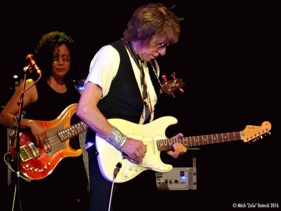 Jeff Beck featuring Jimmy Hall - Cirque Royal, Bruxelles - le 25 octobre 2016