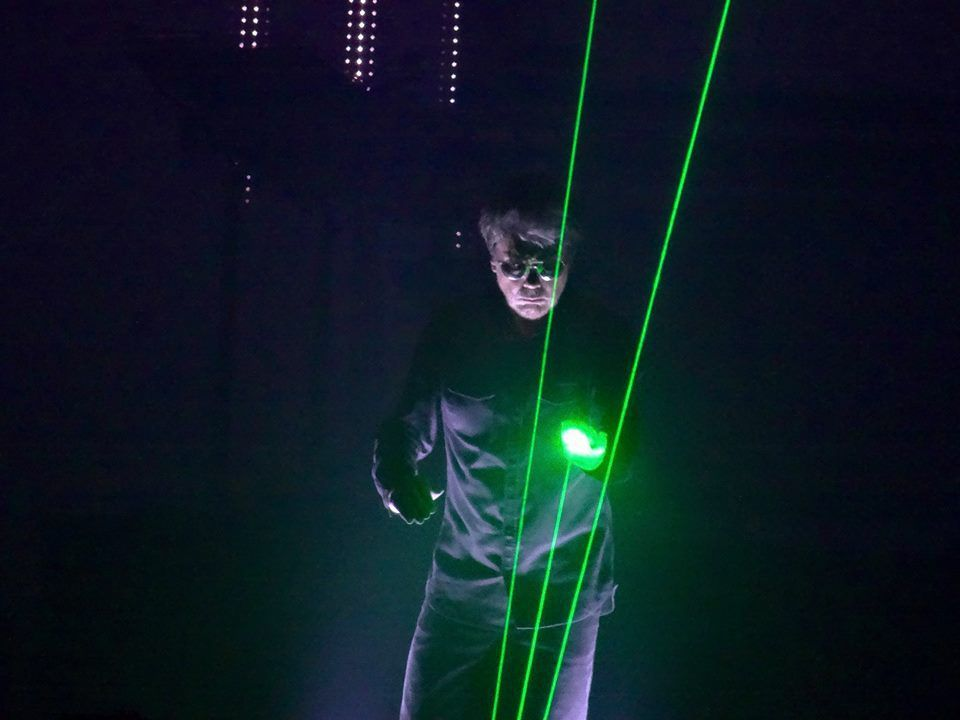 Jean-Michel Jarre - Electronica World Tour - Palais 12 Bruxelles, le 23 octobre 2016