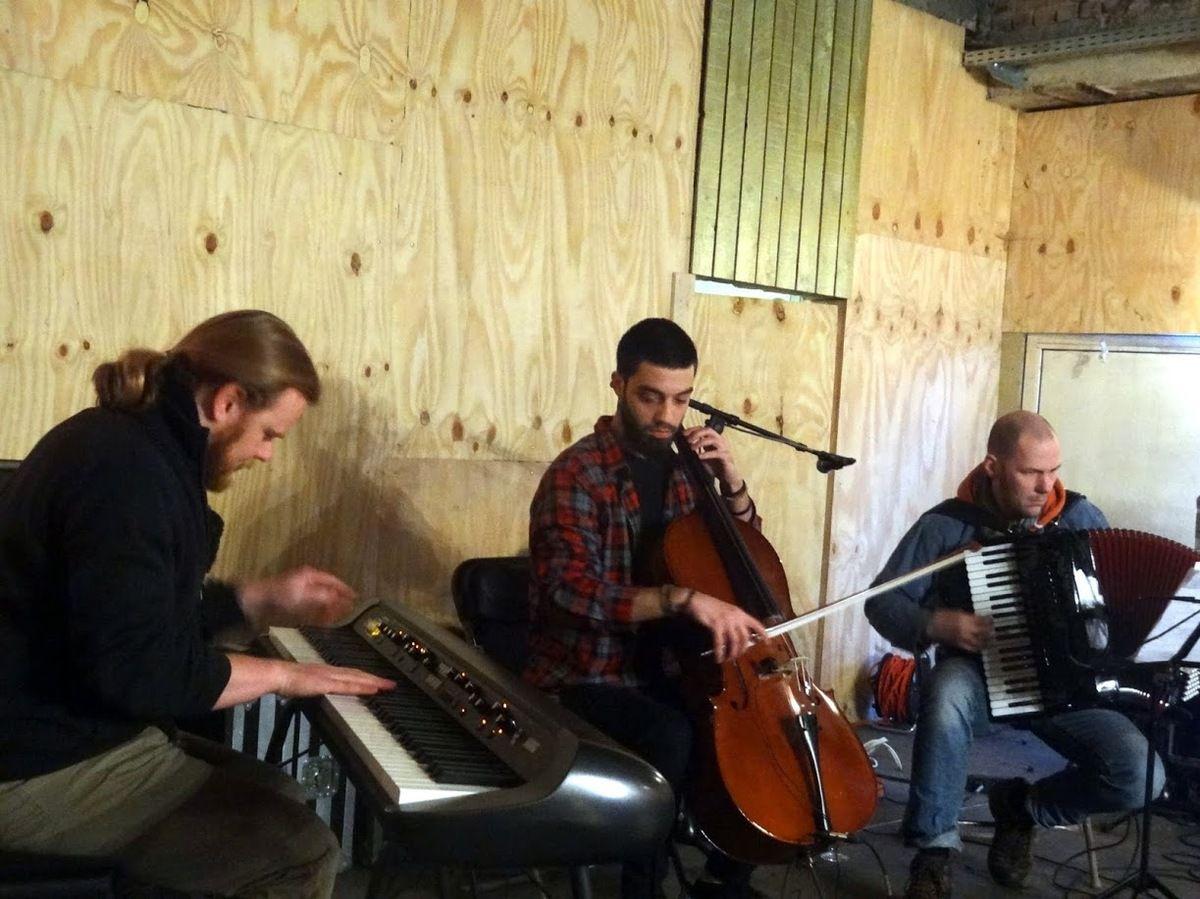 Qotob Trio au Bar Eliza - Koekelberg, le 8 janvier 2017