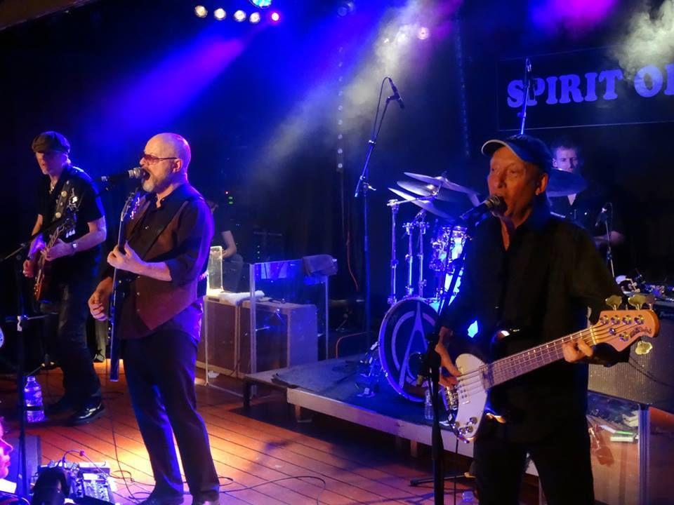 Steve Hill / Wishbone Ash - Spirit of '66, Verviers - le 16 janvier 2017