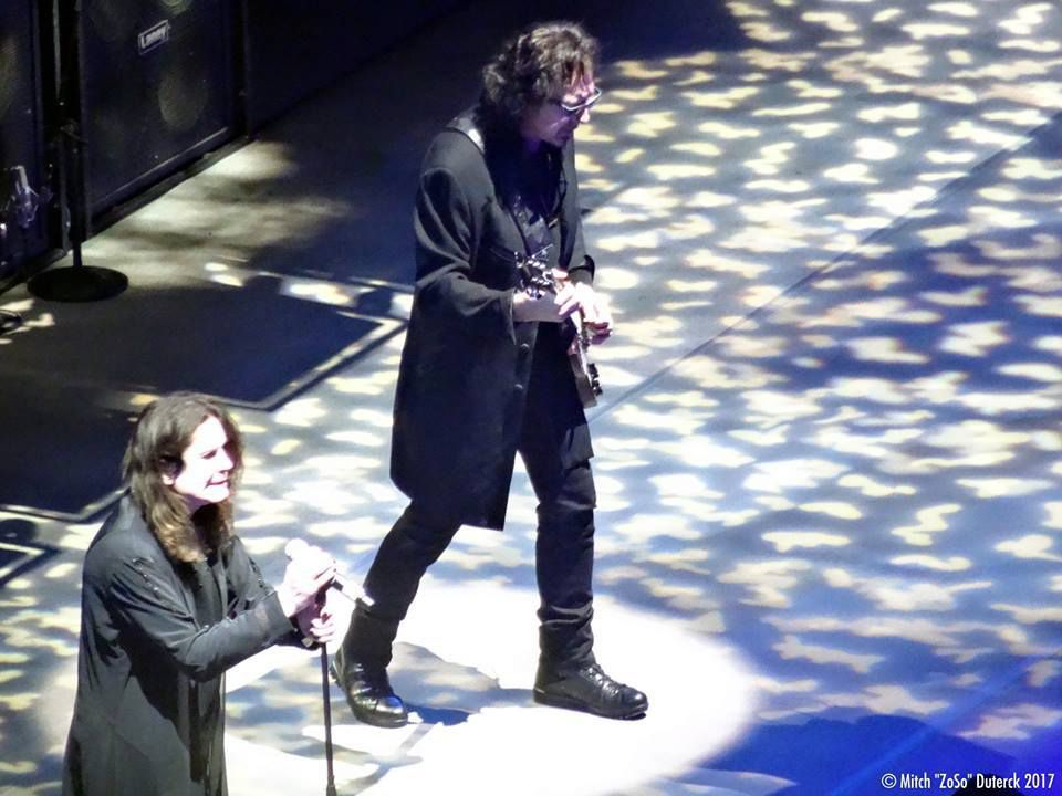 Black Sabbath und Rival Sons - Lanxess Arena - Köln Am 17 Januar 2017