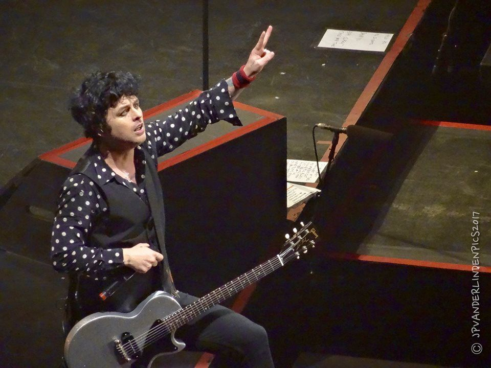 Green Day - Revolution Radio Tour - Forest National, le 2 février 2017