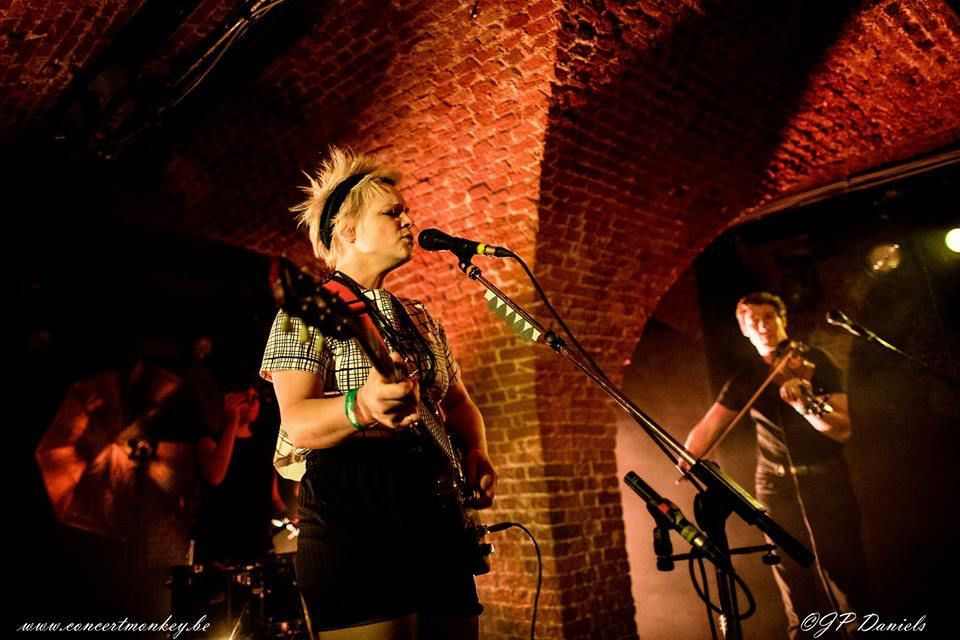 Wallis Bird - Sam Vance-Law au Witloof Bar du Botanique - Bruxelles, le 26 février 2017