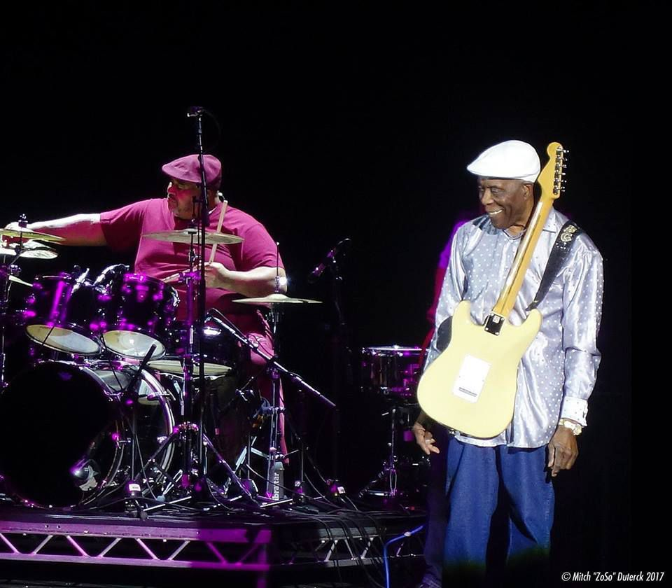 Buddy Guy at the Eventim Apollo London ( Hammersmith) - Thursday 13th July, 2017