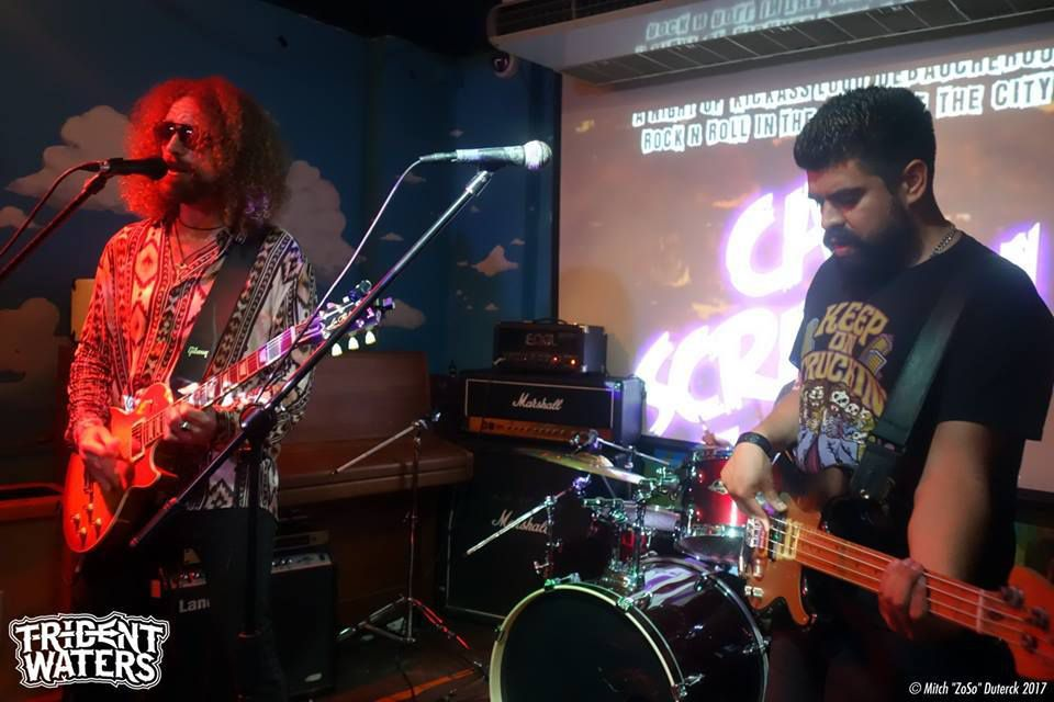 Trident Waters at Alley Cat - London- July 14 th 2017