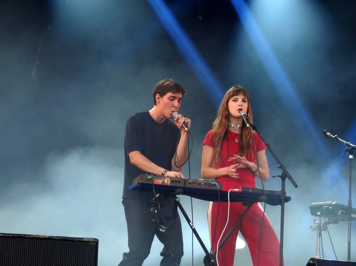 Brussels Summer Festival 2017 - day eight- The Pirouettes/ Las Aves/ La Femme- Mont des Arts -Bruxelles, le 13 août 2017