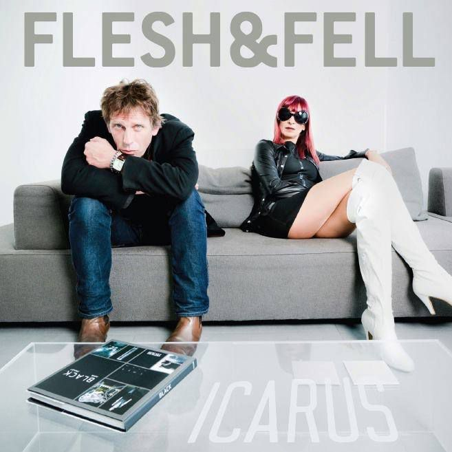 Album on vinyl - Flesh &amp&#x3B; Fell - Icarus.