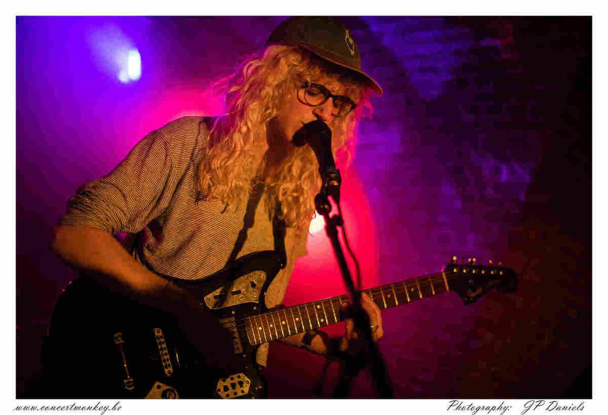 Chastity Belt au Witloof Bar du Botanique, Bruxelles, le 15 septembre 2017.