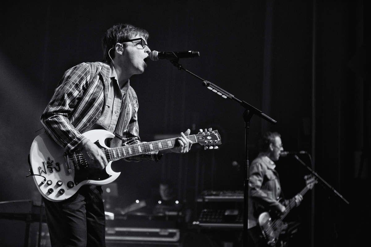 Weezer à l'Ancienne Belgique, Bruxelles, le 18 octobre 2017