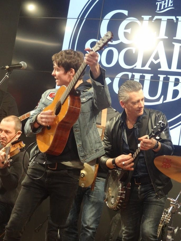 Showcase The Celtic Social Club - Cultura Langueux - le 13 avril 2018