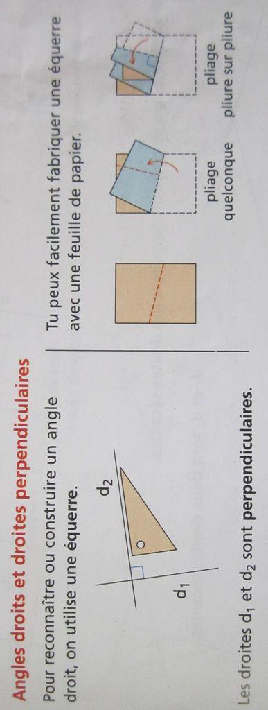 Droites parallèles et droites perpendiculaires