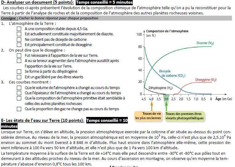 Corrigé DS4 seconde_Planétologie