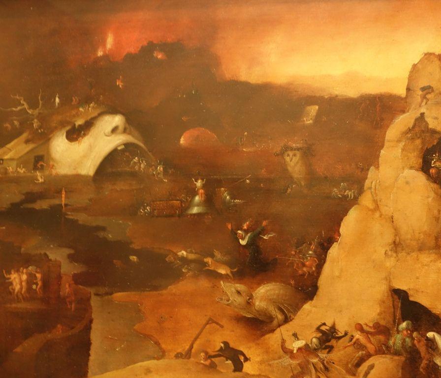 Suiveur de Jérôme Bosch, Descente du Christ en enfer, 1550-60 (détail)