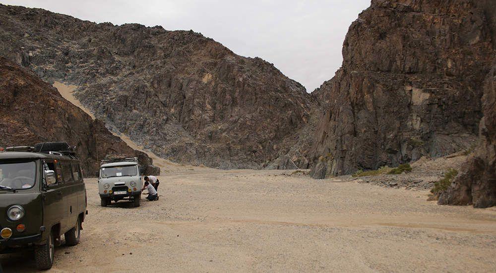 Expédition dans le désert de Gobi, épisode 13