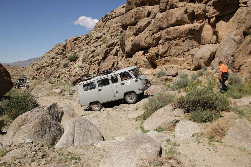 Expédition dans le désert de Gobi, épisode 19