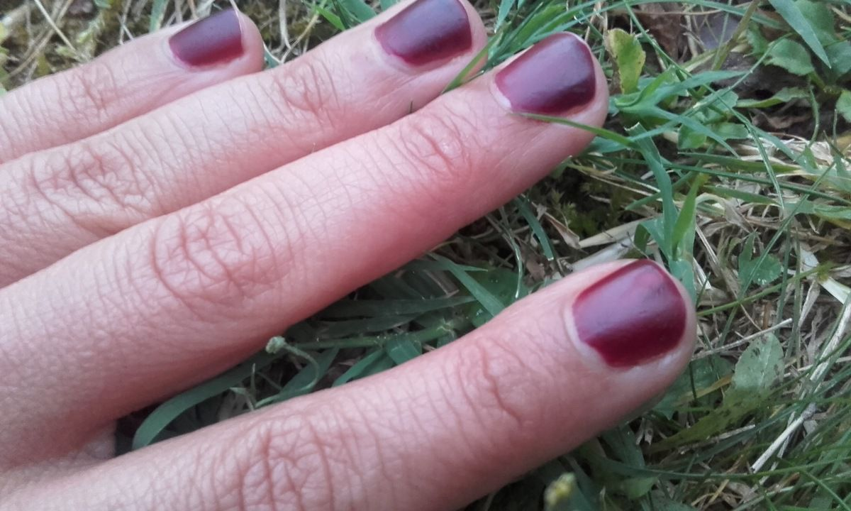 Test AZ : les vernis naturel