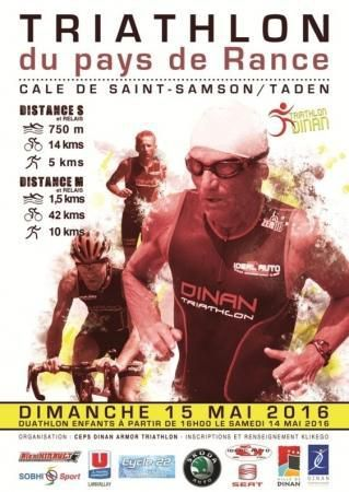 News du triathlon du pays de Rance 2016