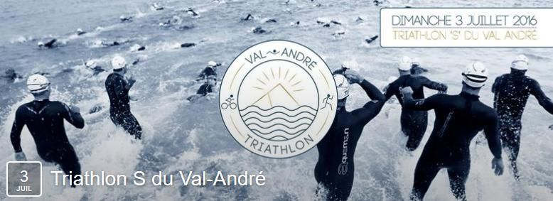 News du triathlon du Val-André 2016