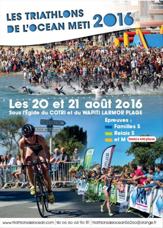 News du triathlon de l'Océan METI Larmor Plage 2016