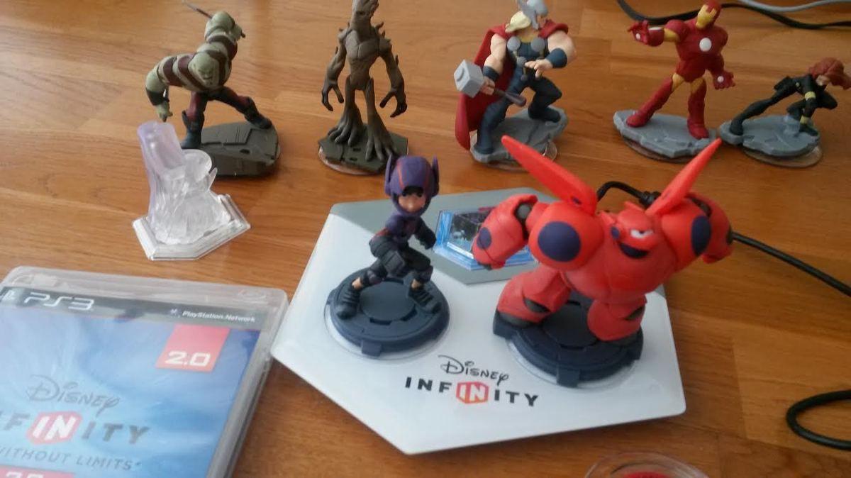 Hiro et Baymax sur Disney Infinity 2, let's play !