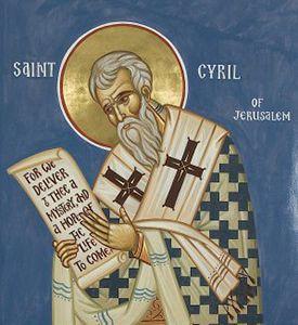 Catéchèse de Saint Cyrille de Jérusalem sur le Saint-Esprit