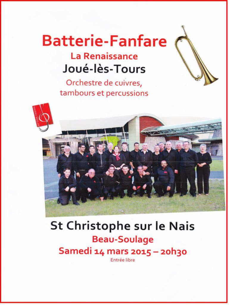 Saint-Christophe-sur-le-Nais : Concert à l'espace Beau-Soulage