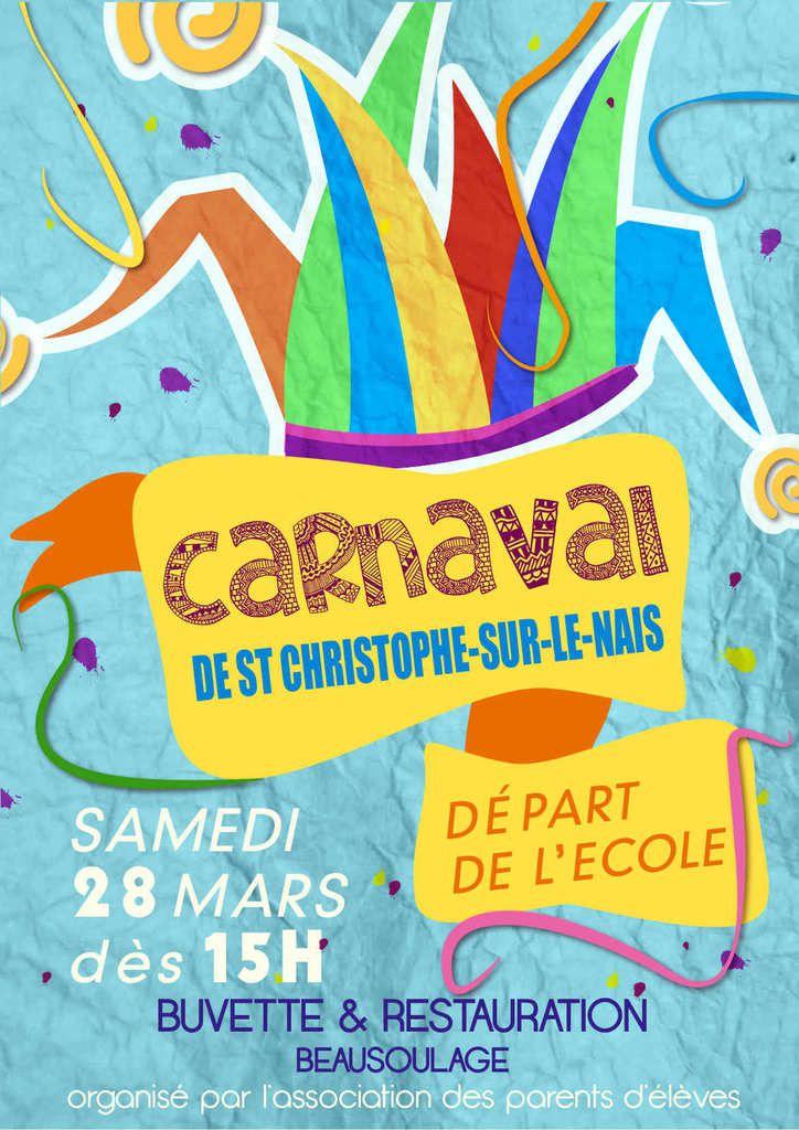Venez nombreux animer le bourg de Saint-Christophe !