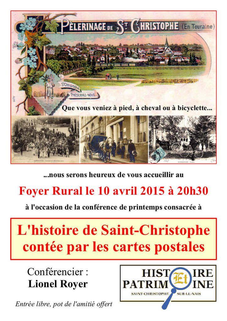 Conférence d'Histoire et Patrimoine à Saint-Christophe-sur-le-Nais