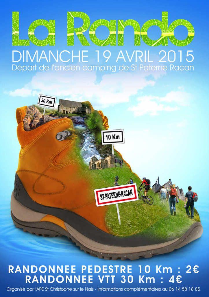 Randonnée avec l'APE de Saint-Christophe : information