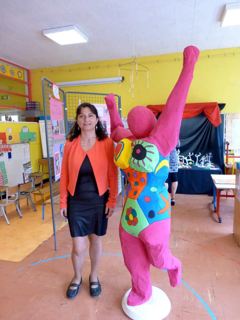 Portes ouvertes à l'école maternelle de Saint-Paterne-Racan