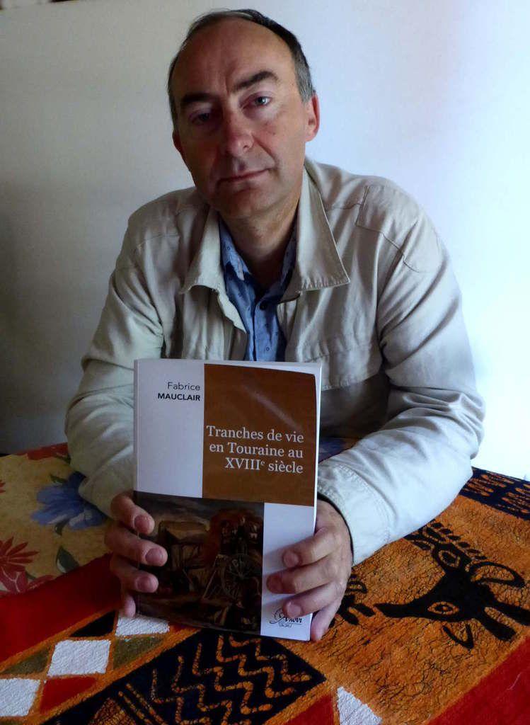 Fabrice présente son nouvel ouvrage historique