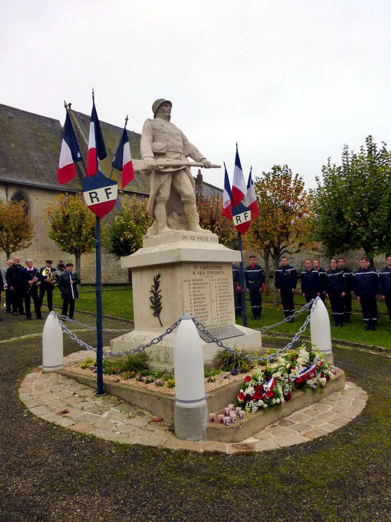 Commémoration du 11 novembre à Saint-Christophe