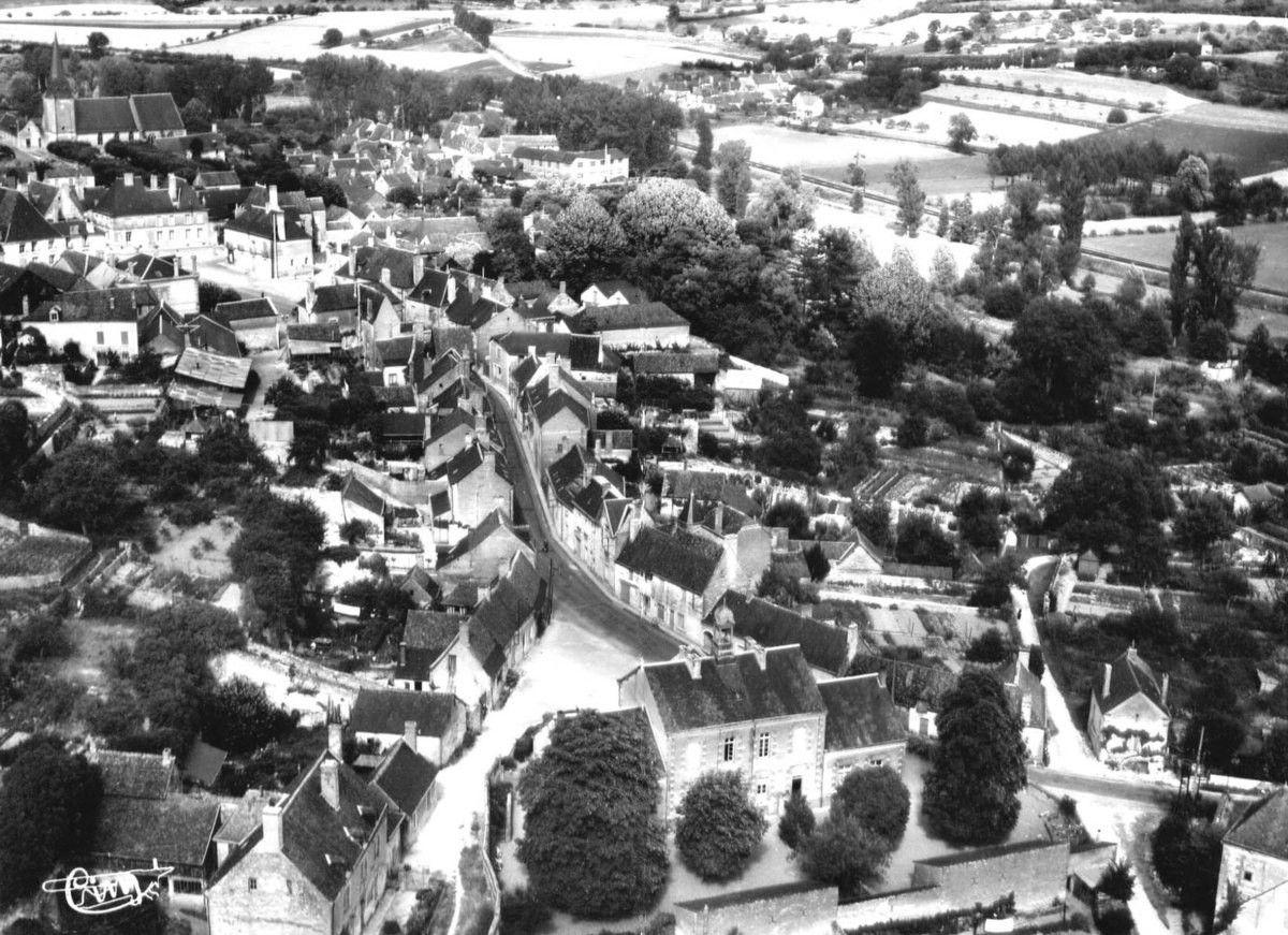 Vue aérienne de Saint-Christophe