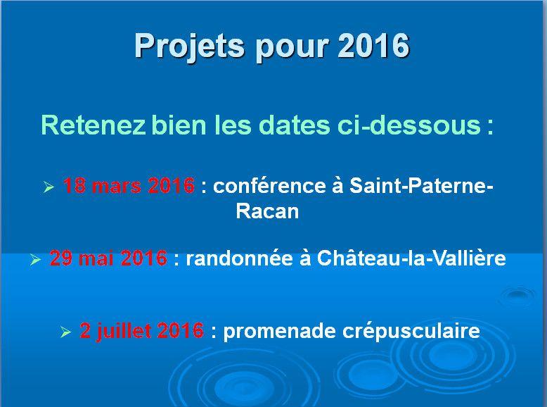 Assemblée générale d'Histoire et Patrimoine de Saint-Christophe-sur-le-Nais