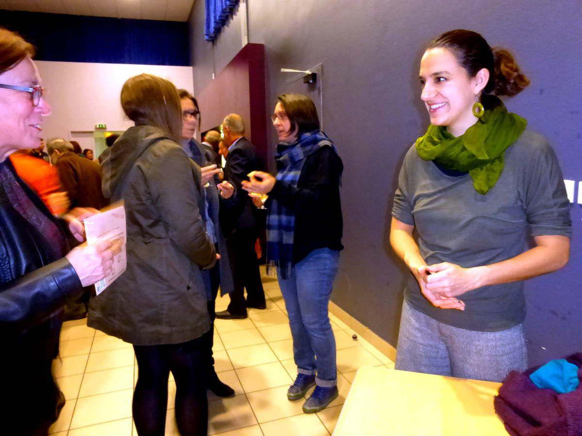 Chloé Martin aime les échanges avec le public