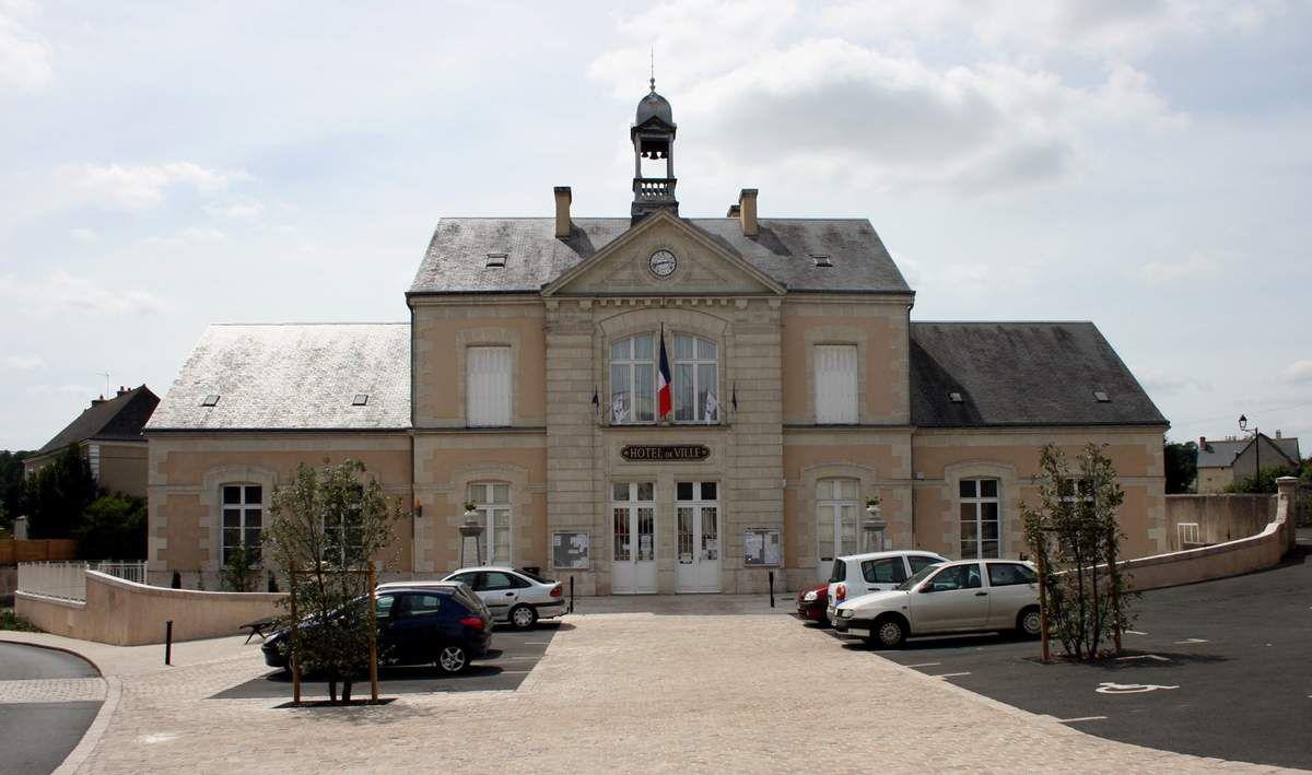 L'hôtel de ville de Saint-Christophe