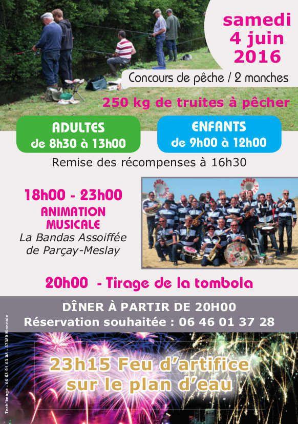 ème fête de la pêche à Saint-Paterne-Racan