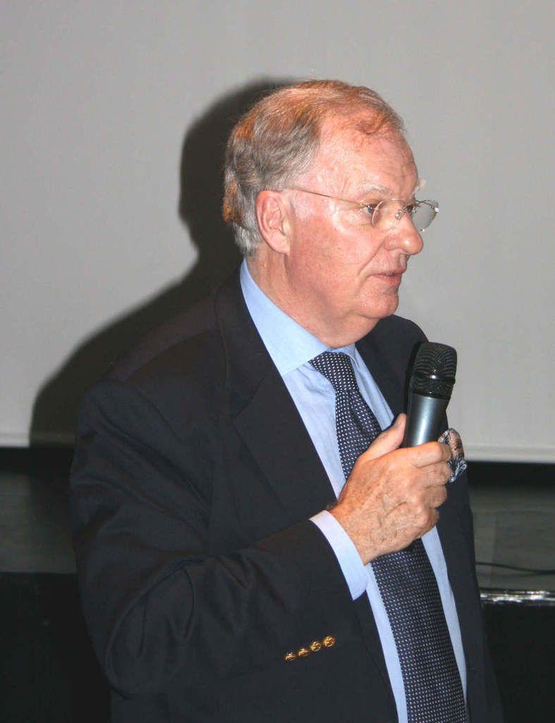 Le conférencier, Patrick Binet
