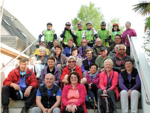 La trentaine de participants au séjour dans le Morbihan
