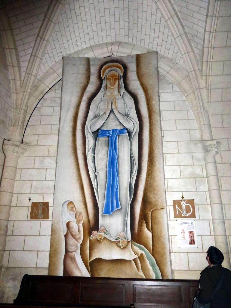 Vues de l'intérieur de l'église