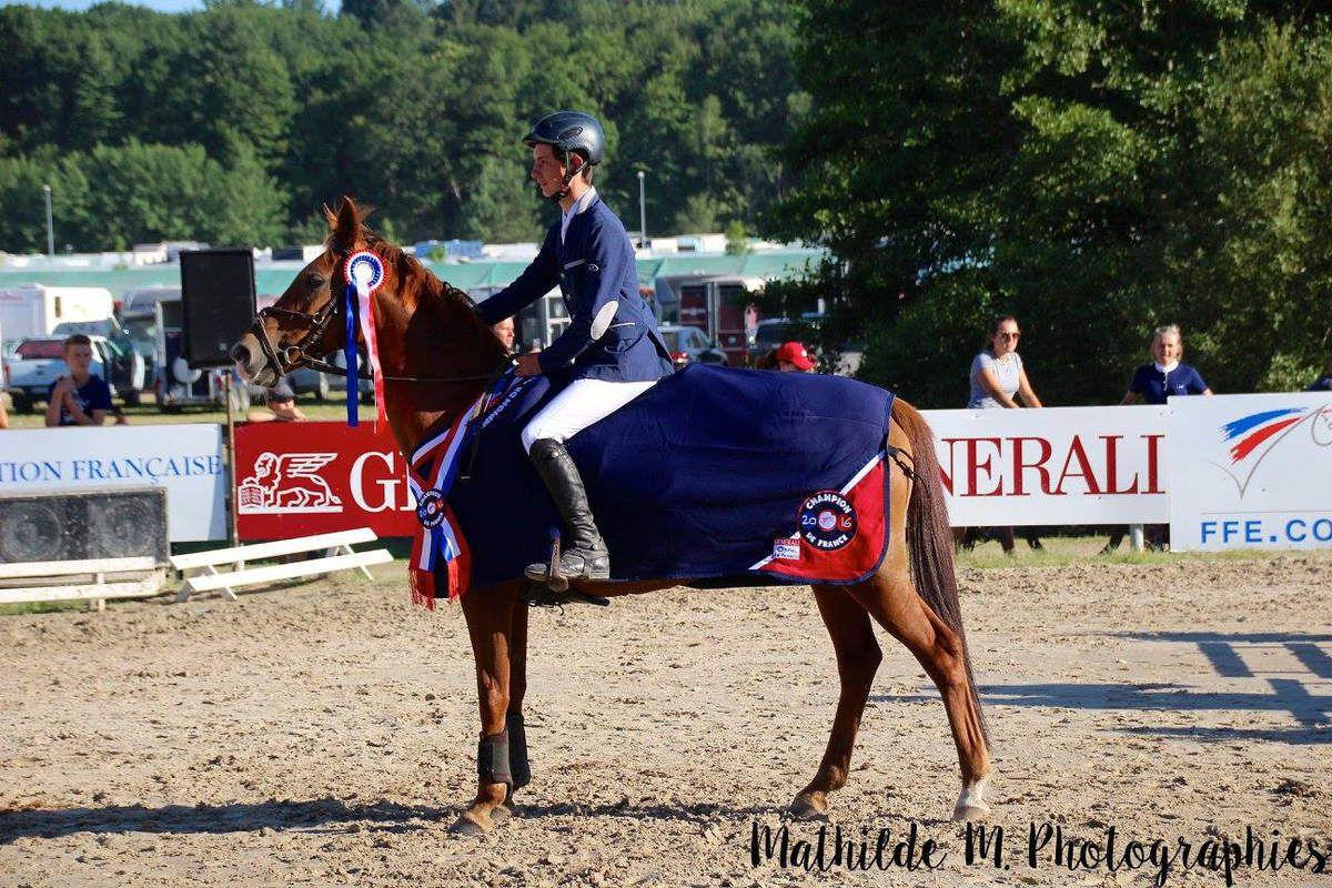 Maxime et son poney