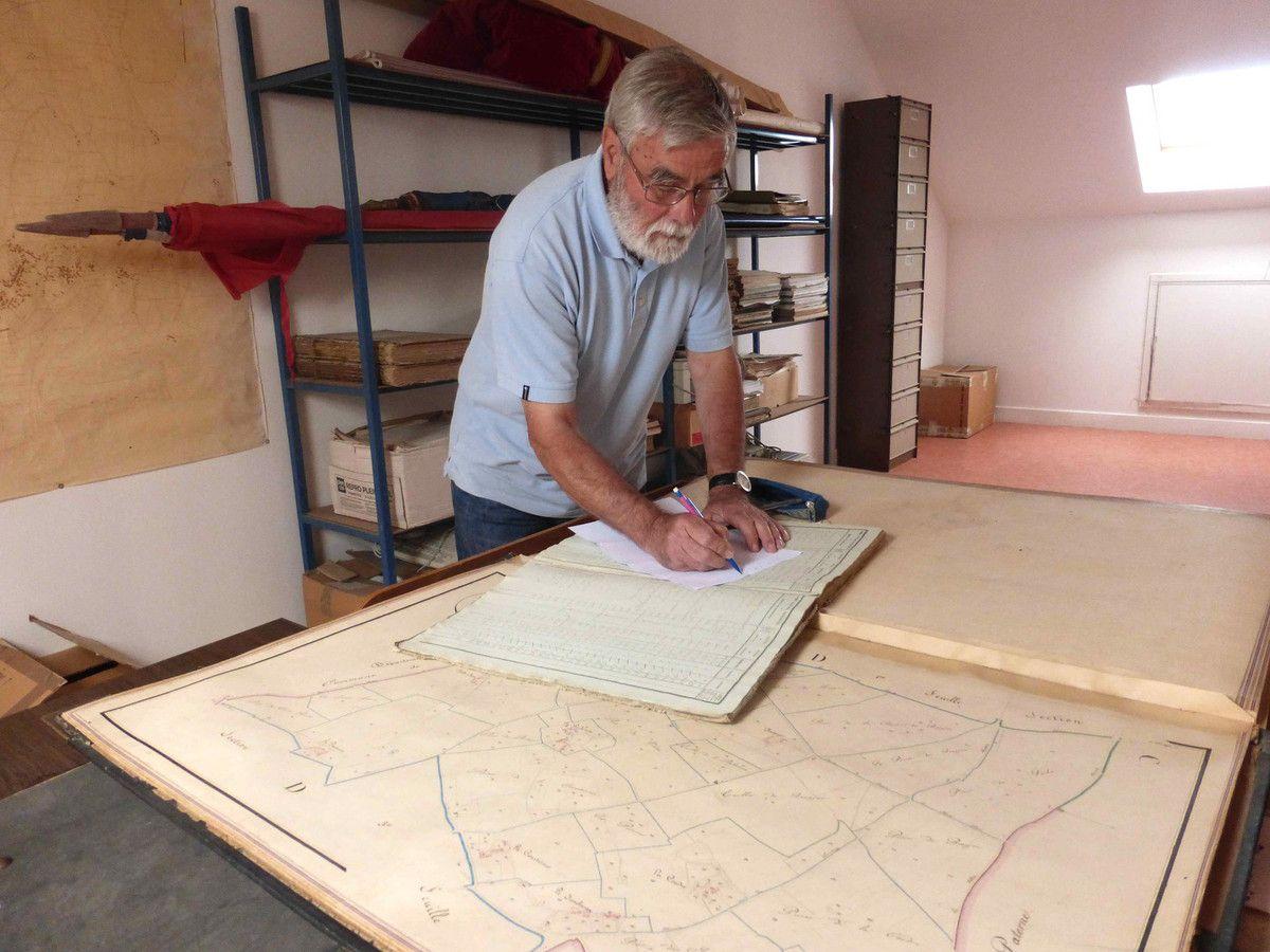 Lionel Royer prépare la future promenade crépusculaire