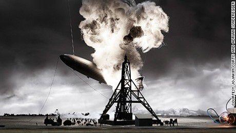 Le désastre du Zeppelin HINDENBURG en 1937