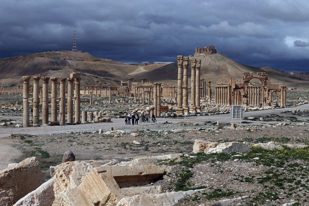 Siria: los agentes de la Cábala Isis/Daesh, se apoderan de la ciudad de  Palmira/Tadmor por profecía talmúdica