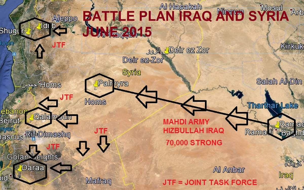Exclusiva de Veterans Today: se terminó el juego, Siria, Irán e Irak entran en guerra