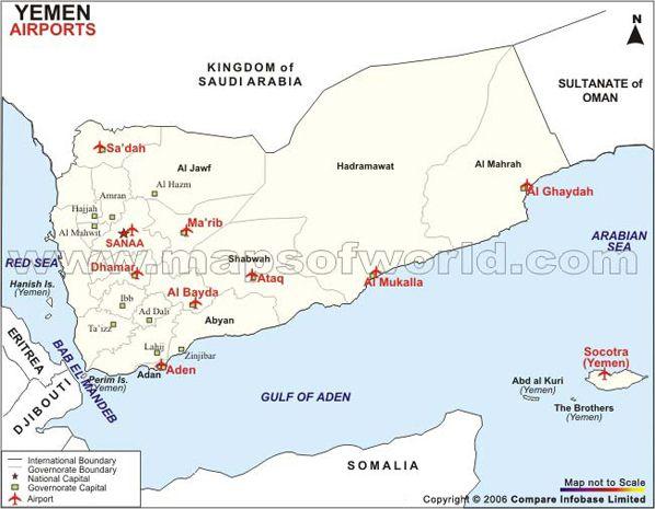 Yemen: El único aeropuerto que no ha sido bombardeado por Arabia Saudita es el controlado por Al-Qaeda