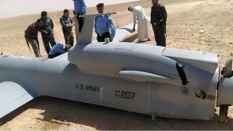 El Pentágono obligado a admitir que uno de sus drones se ha estrellado en Irak