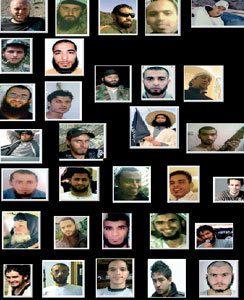 """Lista y fotos de 122  mercenarios criminales  tunecinos muertos en Siria bajo la instrumentalización de la """"Yihad"""" por parte de las hermandades masónicas """"musulmanas"""" entre 2012-2013"""